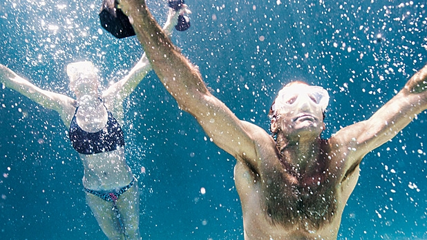 Laird Hamilton's Pool Workout: Strength Training in the Water
