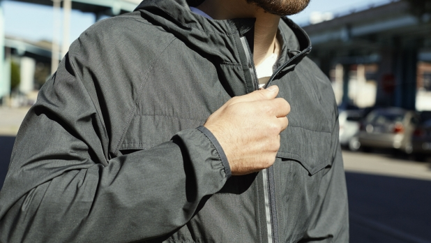 30e53337 Levi's Commuter Windbreaker Review - The Stylish Packable Jacket for  Cyclists - Men's Journal