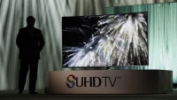 Samsung Electronic unveiled the new SUHD 4K television as CES 2015.