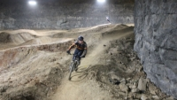 The Mega Cavern mountain bike trails will open in January, 2015, with 12 miles of trails.
