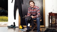 Jim Brateris in the northern California studio where he designs his cold weather–proof Isurus wetsuits