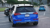 This self-driving Audi, engineered by Delphi, drove from San Francisco to New York with just two driver interventions.