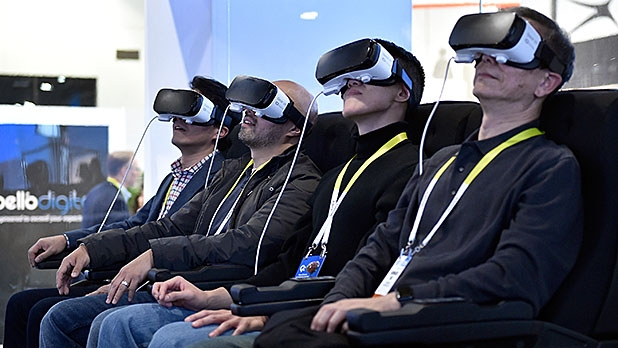 The Samsung virtual reality experience at CES 2016 is impressive. But are these VR sets yet worth the investment?