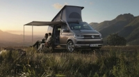 The new Volkswagen T6 California camper van starts around $46,000.