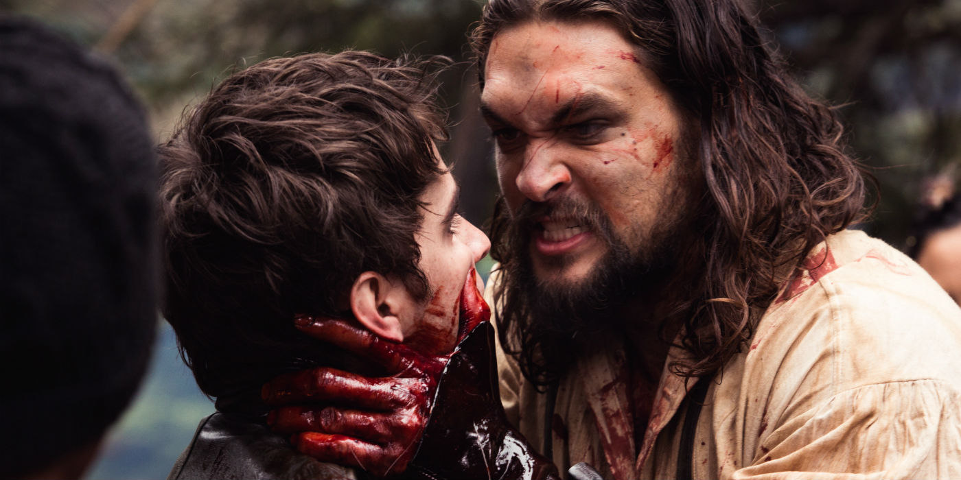 Jason Momoa On Becoming a Badass, Terrifying Fur-Trapper for Frontier'