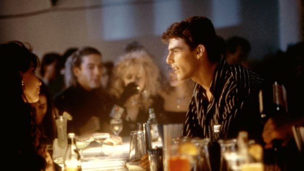 Tom Cruise tends bar in the '80s classic 'Cocktail.'