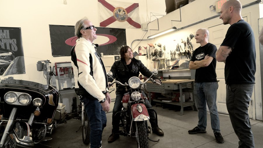 Ride With Norman Reedus and Peter Fonda
