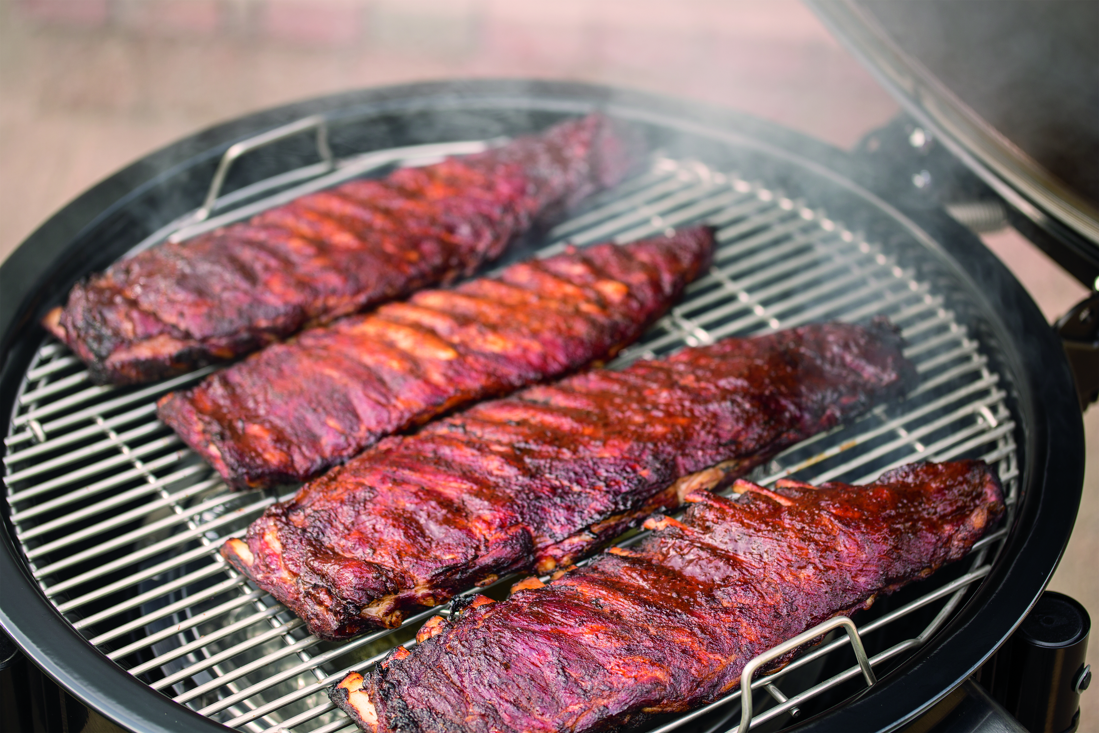 Why You Should Be Smoking On A Weber Grill Men S Journal