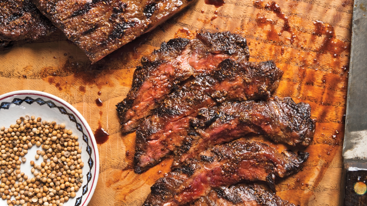 Spice Up Your Skirt Steak