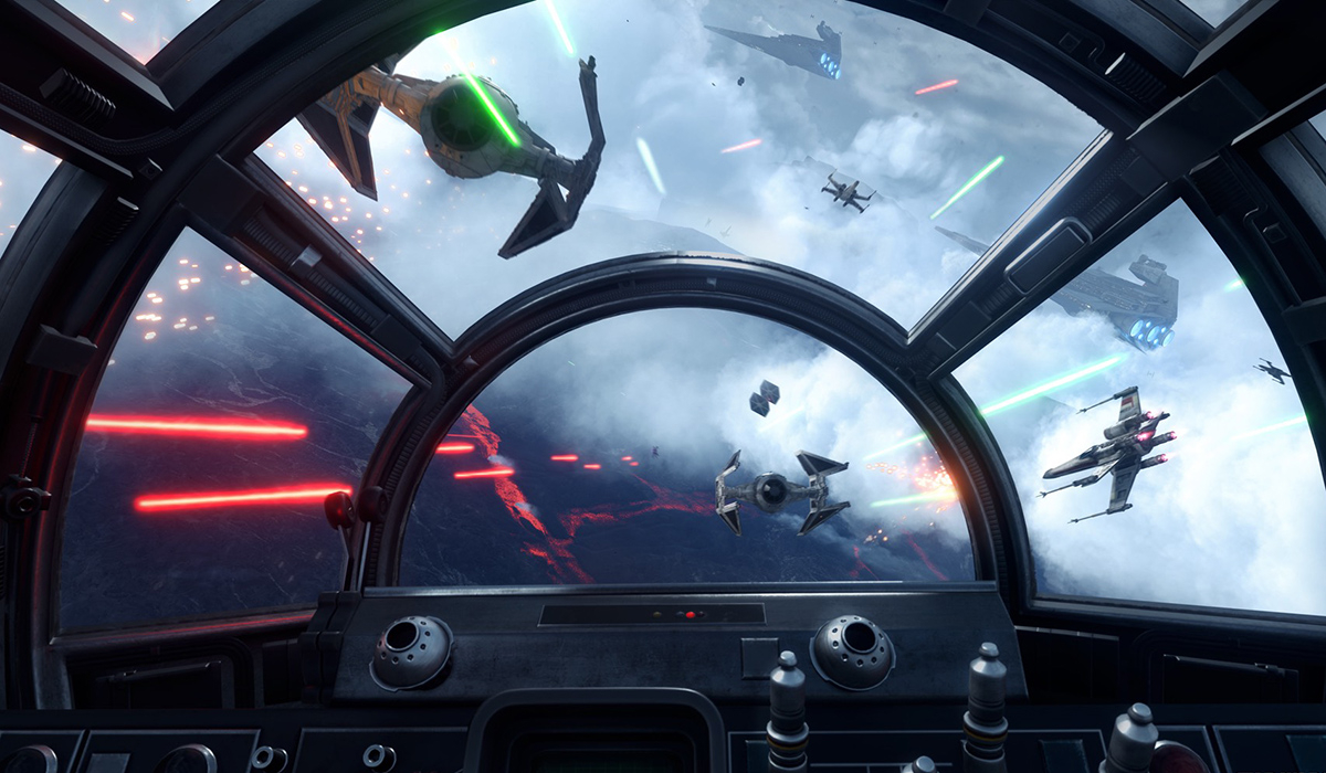 de4e9ffbcffd Star Wars Battlefront  Rogue One X-Wing VR Mission. One of the coolest  virtual reality ...