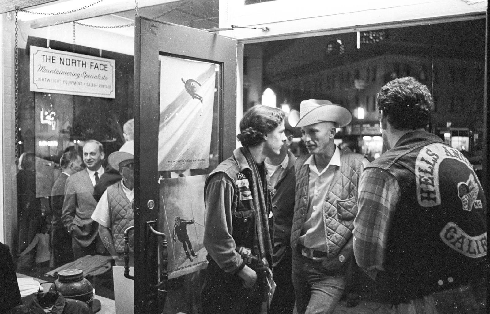 The North Face's Epic 1966 Store Opening, Starring Dirt Bags, Hells Angels and the Grateful Dead