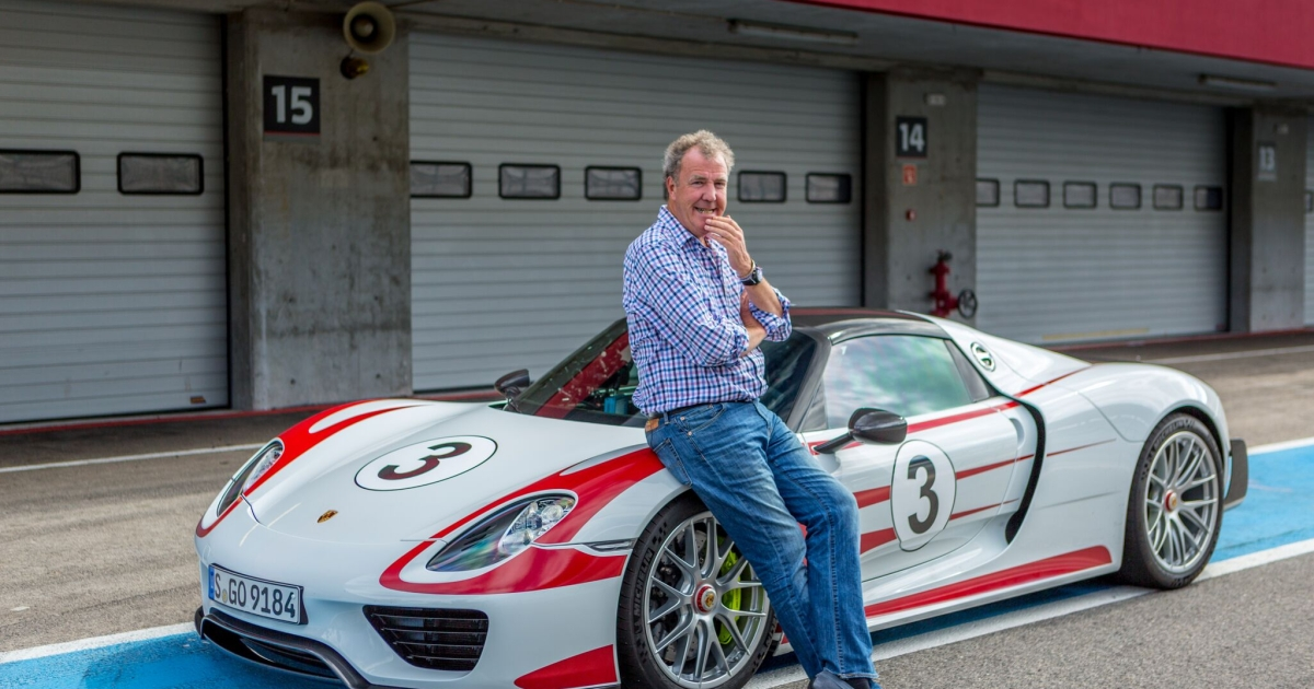 Top Gear's Jeremy Clarkson Is Back With the Supercharged ...