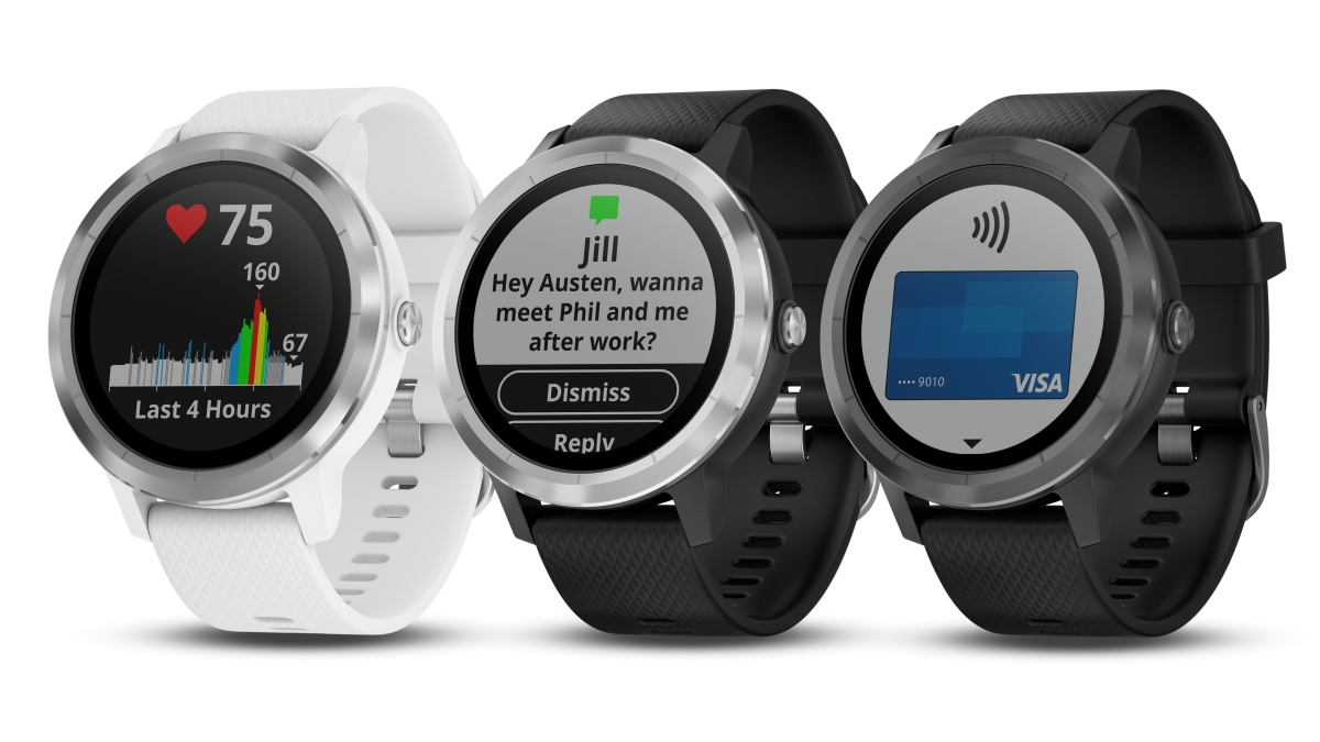 Garmin Continues to Chase Apple and Fitbit with Three New Wearables