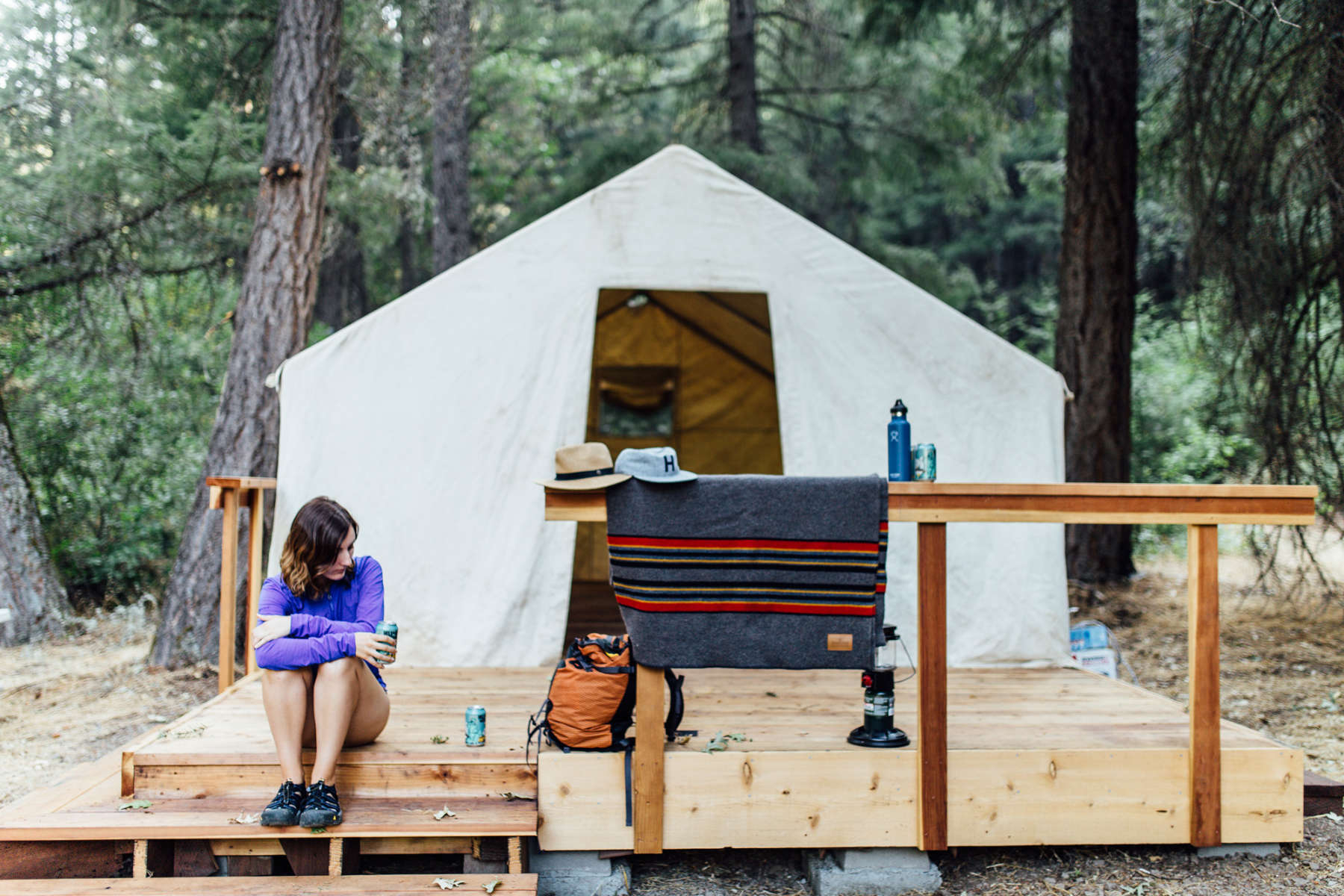 Private Land Camping, Clear Creek Ranch, California